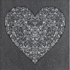 Heartbreak (Black) - Diamond Dusted Edition - Limited Edition Prints