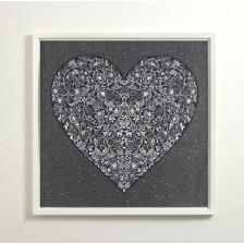 Heartbreak (Black) - Diamond Dusted Edition - Framed