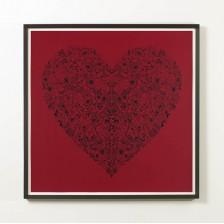 Heartbreak (Red) - Framed