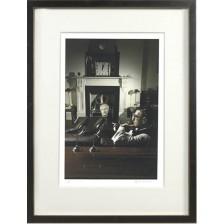 Vettriano Triptych - The Studio II - Framed