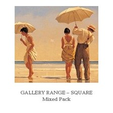 Square Notecards - Mixed Pack No.1