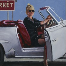 Malice Aforethought by Jack Vettriano - Original Paintings