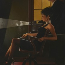 An Imperfect Past II by Jack Vettriano - Original Paintings