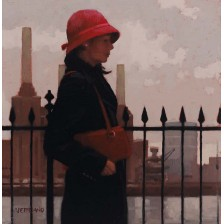 Just Another Day II by Jack Vettriano - Original Paintings