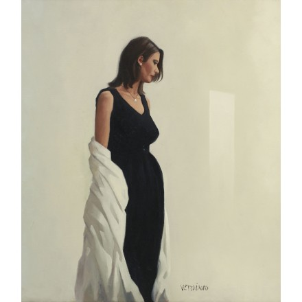Portrait in Black by Jack Vettriano