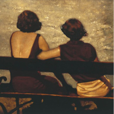 By the River, limited edition print by Anne Magill