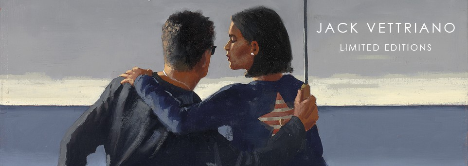 Jack Vettriano  - Rare & Secondary Market Limited Edition Prints
